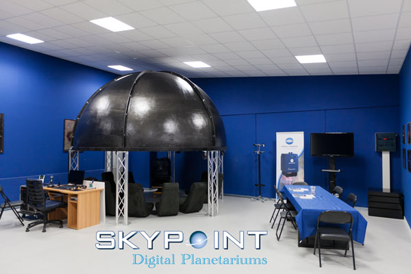 "The first Skypoint ""Tecno Dome"" concept dome."